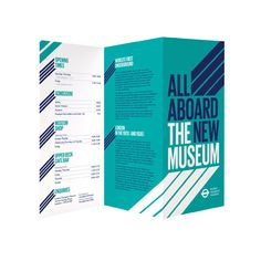 all aboard the new museum brochure 2 color