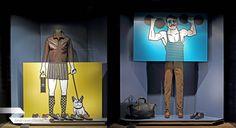 Berluti X Jorge Lawerta, vitrines dailyshopwindow