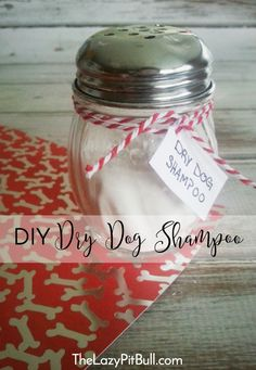 #DIY Dry Dog Shampoo
