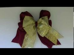 Make a Two Ribbon Bow