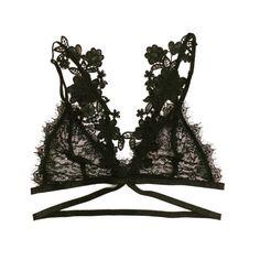 SALE  Sexy Bralette strappy soft cup bra lace por LoVyHouse en Etsy