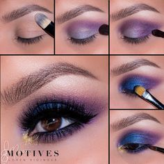 Using colors it can make an amzing makeup Glam Makeup, Skin Makeup, Makeup Inspo, Eyeshadow Makeup, Makeup Inspiration, Motives Makeup, Makeup Eye Looks, Make Up Tricks, Beauty Make-up