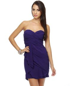 dark purple dress - Google Search