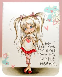 A thousand sheets of paper: Little hearts...