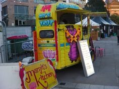 Manjit's Kitchen Converted Horse Box at The For The Love of Food Street Food Festival  #streetfood and British Street Food Awards Leeds 2014