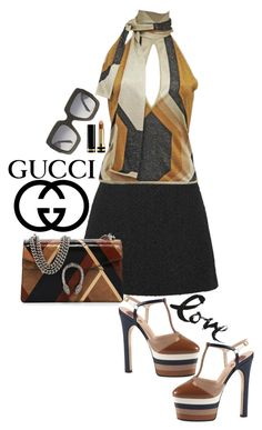 """Gucci"" by juliehooper ❤ liked on Polyvore featuring Gucci, Tom Ford and gucci"