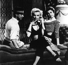 Donald O'Connor, Marilyn Monroe, and Mitzi Gaynor in There's No Buisness like Show Business (1954)