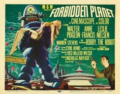 old sci-fi movie posters | ... appreciated sci fi classic it was directed by fred wilcox and stars