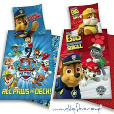Paw Patrol bedding set :)