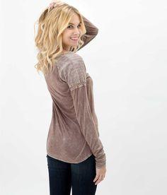 Gimmicks by BKE Slub Fabric Top - Women's Shirts/Tops | Buckle