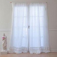 Petticoat White Curtain