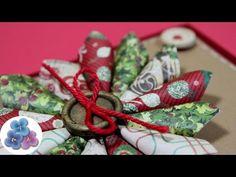 Hoy te muestro como hacer tarjetas de Navidad con recortes ENGLISH version: https://www.youtube.com/watch?v=20mQLONf0a8&index=17&list=PLB_gD3DLw8gSU-nChneLOc...