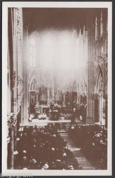 ICYMI: Postcard, Queenstown (Cobh) Cathedral, Titanic Service April 1912 by CavalierPostcards Belfast, Liverpool, Rms Titanic, Memento Mori, Vintage Postcards, Travel Posters, Worlds Largest, Cathedral, History