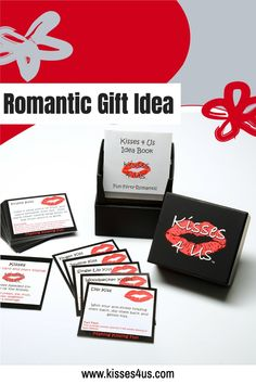 Kisses 4 Us® is a Fun Gift Idea for Wedding Showers, Birthdays, Anniversary, Christmas and Valentine's Day!Couples will have fun drawing fun, flirty, romantic kisses from their Kisses 4 Us box as they celebrate their special occasion. Christmas Date, Romantic Christmas Gifts, Diy Xmas Gifts, Holiday Dates, Christmas Gifts For Him, Romantic Gifts, Christmas Countdown, Christmas Wishes, Holiday Ideas