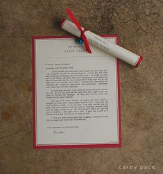 Elf on the Shelf Arrival letter from Santa that dispels the myth about the naughty or nice list, by Carey Pace
