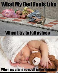 funny bedtime, sleeping