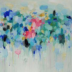 Abstrait Art Print, peinture abstraite, peinture à l