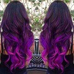 Imagine hair and purple