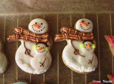 アイシングクッキー (冬)