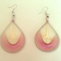 Cute Pink Earrings Brand New hook earrings in Pink. Still in original Package. Jewelry Earrings