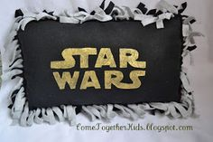 Come Together Kids: Star Wars Fleece Pillow
