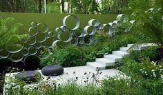 jardin paysager, conception paysagiste artistique