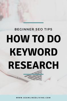 5 Keyword Research Tips for Beginners - SEO Marketing Tool - Marketing your keywords with SEO Tool. - How to Do Keyword Research Beginner SEO Tips Seo Marketing, Marketing Digital, Online Marketing, Content Marketing, Business Marketing, Affiliate Marketing, Media Marketing, Facebook Marketing, Onpage Seo