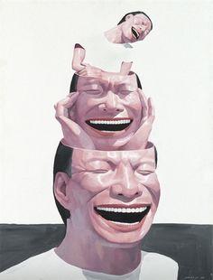 Yue Minjun - Untitled on MutualArt.com