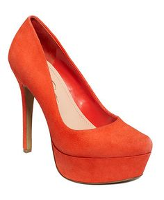 Love these Jessica Simpson Shoes in Florescent Coral