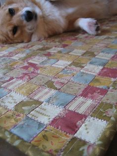 "this quilt is made by weaving, then zig-zag stitching the ""seems"" - love it!"