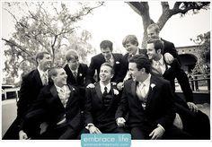 San Juan Capistrano Wedding Photography, Groomsmen, laughing groomsmen, groomsmen poses