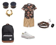"""""""Male #1"""" by vinicius-lessa on Polyvore featuring moda, Express, Billabong, Converse, NOVICA, Forever 21, Herschel Supply Co., women's clothing, women e female"""