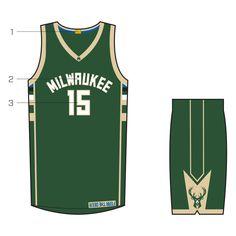 New Uniforms | Milwaukee Bucks