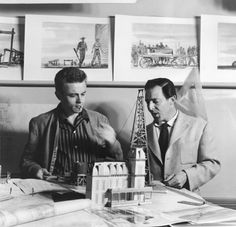 James Dean - preparing for ''Giant' 1955