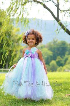Flower girl dress-Mint and Lavender Flower girl dress- Mint and Lavender flower girl dress-Mint and Lavender flower girl dress