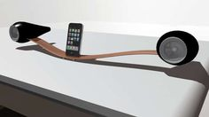 Glide iPod Docking Station - There aren't many iDevice docks real or conceptual that look like the Glide iPod Docking Station. Designer Matthew Hicks has designed a dock t...