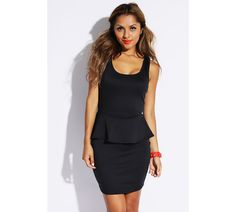 Black Sheer Lace Dress