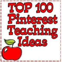 pinterest teacher ideas | Top 100 Pinterest Teaching Ideas