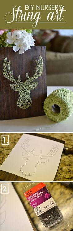 26 Best String Art Projects (Ideas and Designs) for 2017