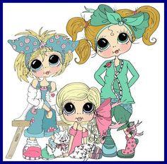 Anime - Sherri Baldy Clip Art Pictures, Cute Pictures, Besties, Art Fantaisiste, Coloring Books, Adult Coloring, Art Mignon, Cute Cartoon Wallpapers, Cute Images
