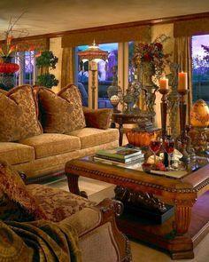 tuscan decor ideas living room - Google Search