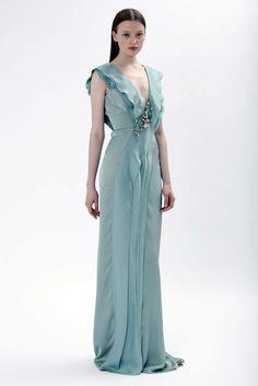 J. Mendel Resort 2010 Fashion Show - Anastasia Kuznetsova