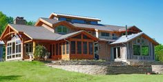 New Energy Works Timberframers | Mountain Living