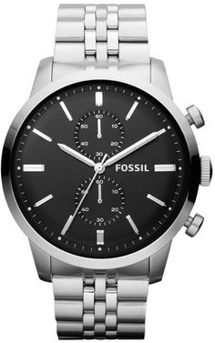 FS4784 - Authorized Fossil watch dealer - MENS Fossil TOWNSMAN, Fossil watch, Fossil watches