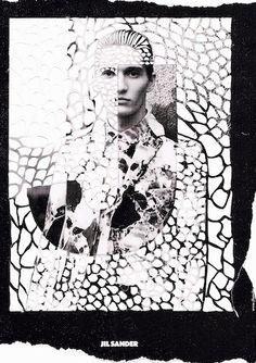 Jil Sander Fashion Photo, New Fashion, Toni And Guy, Print Design, Graphic Design, Photocollage, Fashion Graphic, Design Reference, Jil Sander
