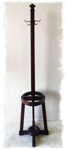 Bentwood Wooden Wood Coat Hat Umbrella Stand Rack Hang