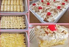 Ingredients 1 box of Twinkies 4 bananas peeled and sliced 1 20 oz can crushed pineapple drained well 1 3 oz box INSTANT vanilla pudding 2 cups cold milk 1 8 oz tub whipped topping (COOL WHIP) thawed maraschino cherries and chopped Hostess Cupcakes, Cupcake Cakes, Food Cakes, Buttermilk Oven Fried Chicken, Mexican Chocolate Cakes, Peach Coffee Cakes, Twinkie Cake, Banana Bread Ingredients, Oreo Ice Cream