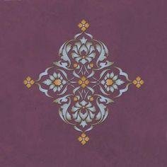 Alhambra Modern Masters Stencil