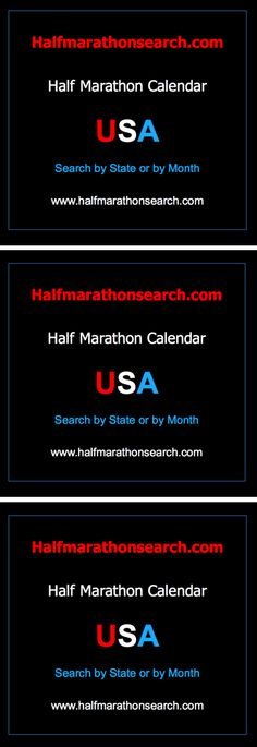 #halfmarathon #halfmarathons USA Half Marathon Calendar - Search for a half marathon by state OR by month - California half marathons, Texas half marathons, Colorado half marathons, New York Half marathons, Illinois half marathons, Ohio half marathons, Arizona Half marathons, Pennsylvania half marathons, Florida half marathons AND MORE.   www.halfmarathonsearch.com