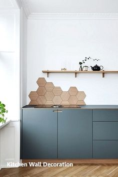9 Best Trends in Kitchen Design Ideas for 2018 [No. 7 Very Nice] kitchen design layout ideas with island, modern, small, traditional, layout floor plans Kitchen Wall Design, Kitchen Wall Art, Kitchen Backsplash, Kitchen Interior, New Kitchen, Backsplash Ideas, Kitchen Wood, Kitchen Decor, Kitchen Stove